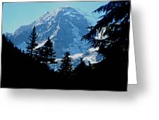 Mount Rainier 14 Greeting Card