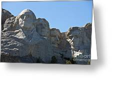 Mount Rushmore National Monument Greeting Card