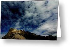 Mount Rushmore South Dakota Greeting Card