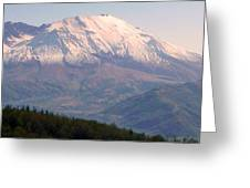 Mount Saint Helens Spirit Greeting Card