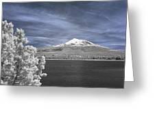 Mount Shasta Greeting Card
