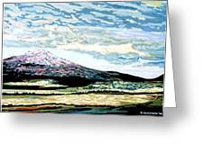 Mount Shasta California Greeting Card