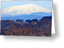 Mount St. Helens Greeting Card