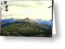 Mount Starr King Greeting Card