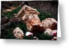 Mount Trashmore - Series Xi Greeting Card