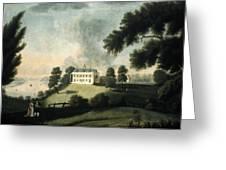 Mount Vernon, 1806 Greeting Card