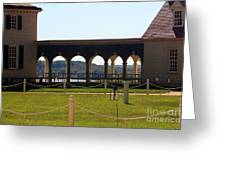 Mount Vernon Colonnade Greeting Card