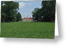 Mount Vernon In May Greeting Card