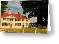 Mount Vernon Greeting Card