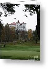 Mount Washington Hotel - Bretton Woods Greeting Card