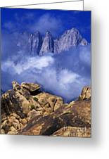 Mount Whitney Alabama Hills California Greeting Card