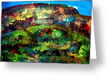 Mountain 130125-4 Greeting Card
