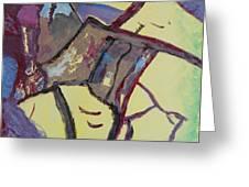 Mountain Antelope Greeting Card