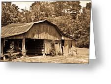 Mountain Barn 1 Greeting Card