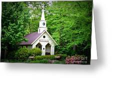 Mountain Chapel Greeting Card