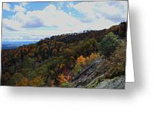Mountain Colors Greeting Card by Judy  Waller