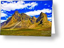Mountain Crags Greeting Card