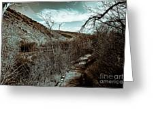 Mountain Creek Path-sundance Utah V3 Greeting Card