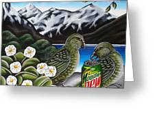 Mountain Dew Greeting Card