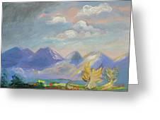 Mountain Dream Greeting Card