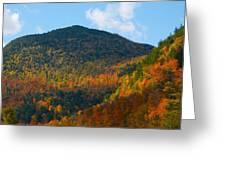 Mountain Fall Greeting Card