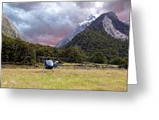 Mountain Flight Greeting Card