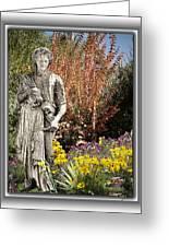 Mountain Gardener Greeting Card