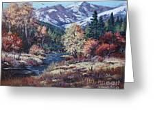 Mountain Glory Greeting Card by W  Scott Fenton