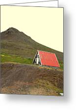 We Will Live Together In A Humble Mountain Hut  Greeting Card