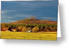 Mountain In North Carolina Greeting Card