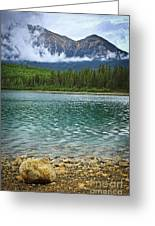Mountain Lake Greeting Card by Elena Elisseeva