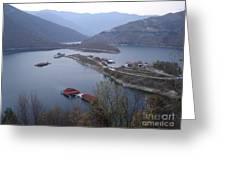 Mountain Lake Greeting Card