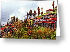 Mountain Living  Greeting Card