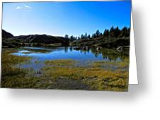 Mountain Marshes 2 Greeting Card