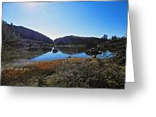 Mountain Marshes 4 Greeting Card