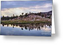 Mountain Mirror View Greeting Card