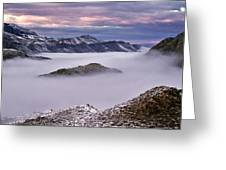 Mountain Moods Greeting Card