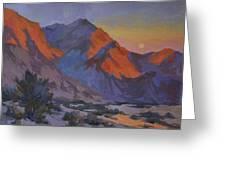 Mountain Morning Greeting Card