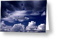 Mountain Of Clouds Greeting Card