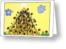Mountain Of Hope Greeting Card