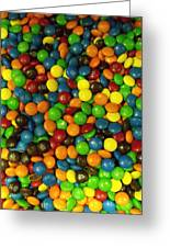 Mountain Of M And M's Greeting Card