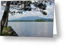 Mountain Of The People Of Maine Greeting Card