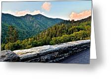 Mountain Overlook Greeting Card