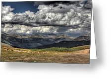 Mountain Panorama Greeting Card