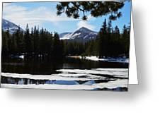 Mountain Peak Greeting Card