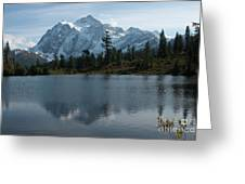 Mountain Reflection Greeting Card