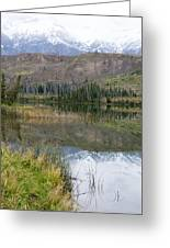 Mountain Reflections Greeting Card