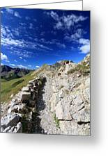 Mountain Ridge Greeting Card