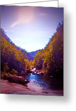 Mountain Solitude Greeting Card