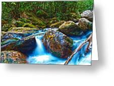 Mountain Streams Greeting Card